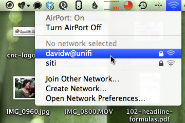 Unifi default SSID