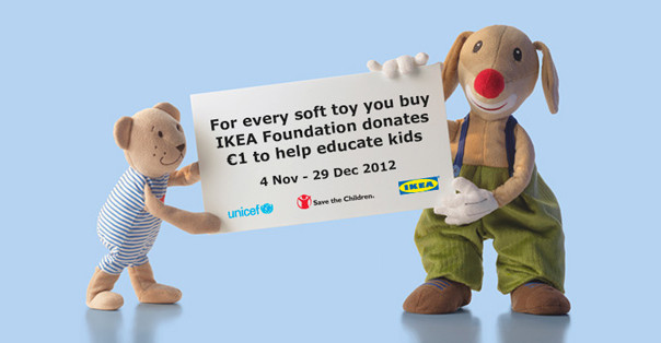 IKEA Smales soft toy campaign 2012