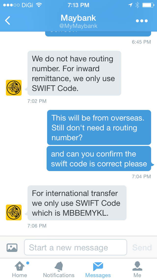 Maybank SWIFT code and routing number - blogjunkie.net
